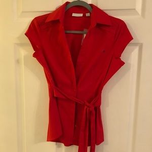 Nwt New York and co button down shirt